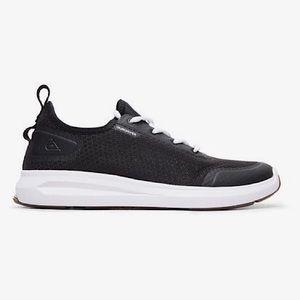 Men's Quicksilver Layover Black Shoes 10 US!